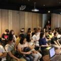 台湾ファイブのスタッフ達がCGアニメ業界の講演を行いました。