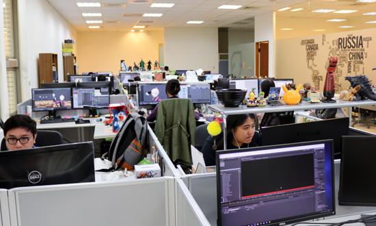 株式会社5(ファイブ)台湾CGスタジオ風景1_五號影像有限公司 Studio5